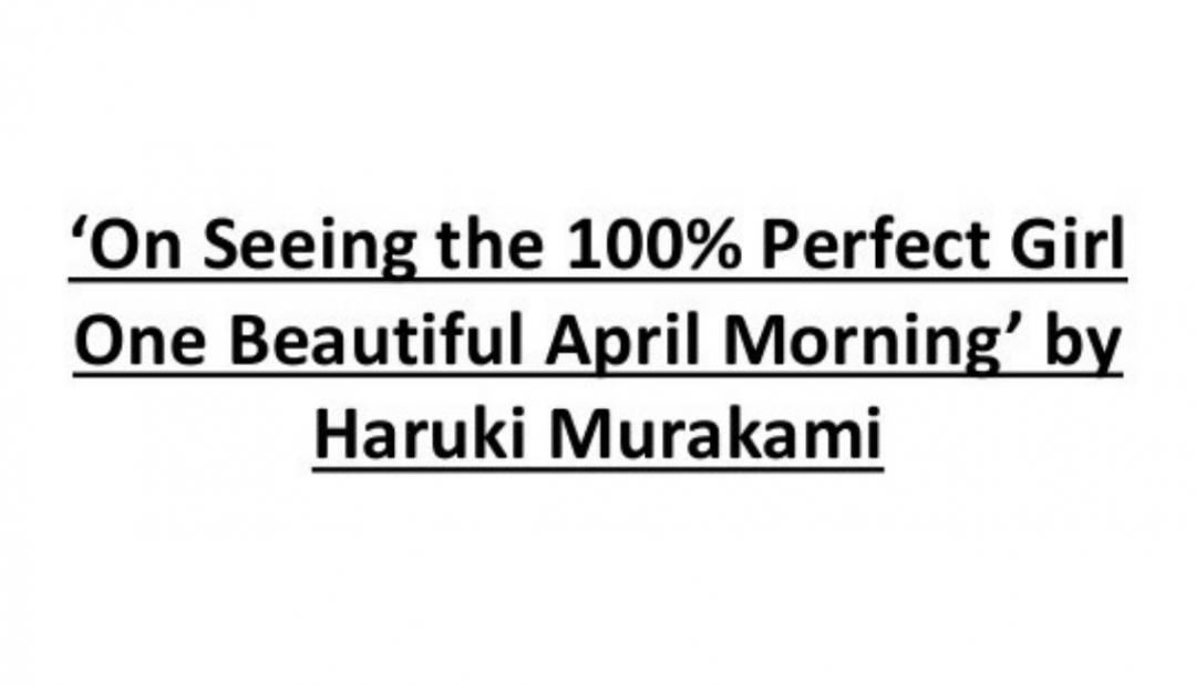 Chào buổi sáng, em – cô gái 100% hoàn hảo dành cho tôi