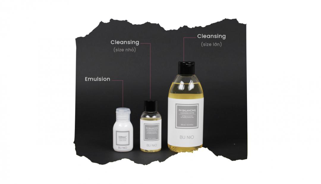 BU:NiO pH Balancing Cleansing Water